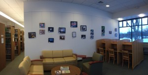 Krystin's photo show at Vermont Tech